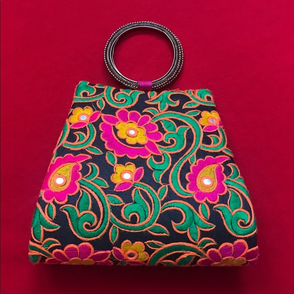 Bags Kutch Embroidery Designer Multicolour Clutch Poshmark